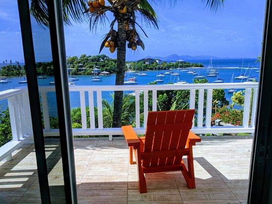 Balcony - Picture of Jenny's Place - St Vincent, St. Vincent - Tripadvisor