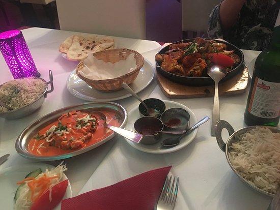 Indisches Restaurant Maharadscha: dinner