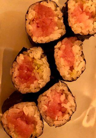 Sushi Yasuda: Tuna sushi roll