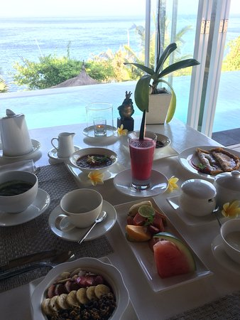 Seraya, Indonesien: Frühstück