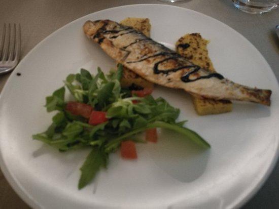 Ristorante Gnocchetto: Misultin con polenta
