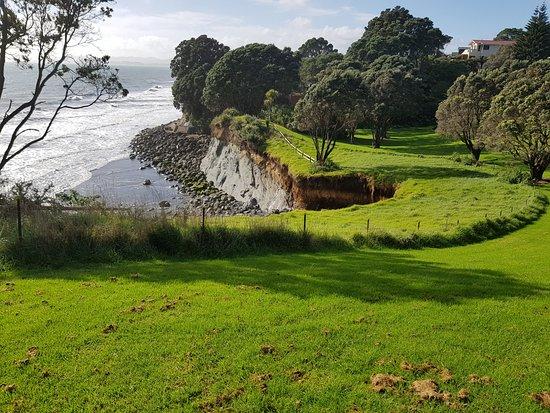 Ocean Erosion in Onaero