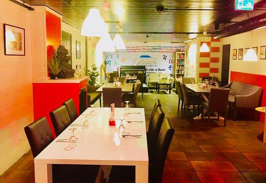Glacier Restaurant Bar Cafe Downstai Seating Arrangement For 5 Or More Number Of Guests