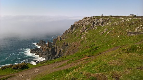 St Austell, UK: A view of Botallack