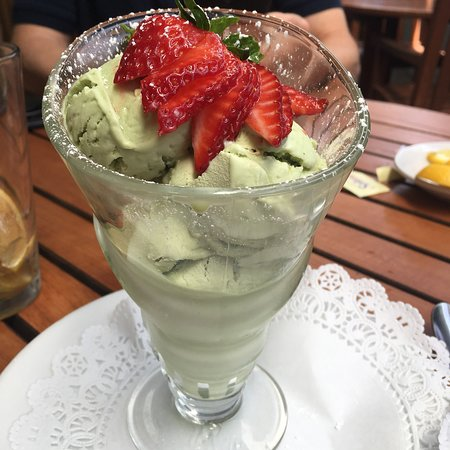 Cafe Rustica: Pistachio gelato