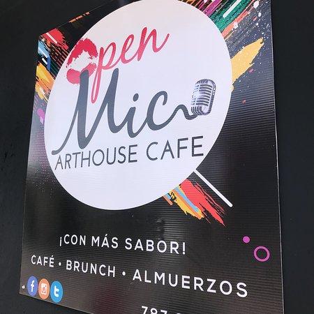 Juncos, Puerto Rico: Open Mic Arthouse Cafe