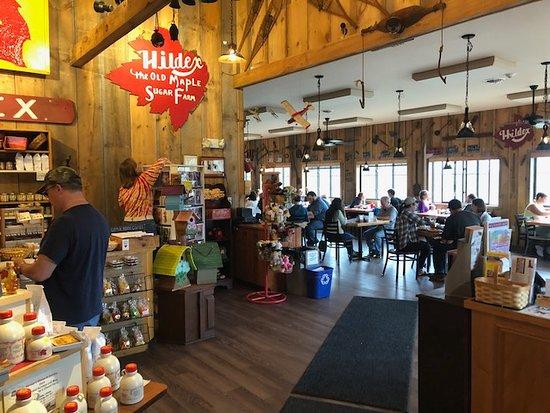Sugar Hill, Nueva Hampshire: Polly's