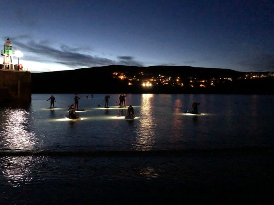 Port Erin, UK: Sunset Paddle