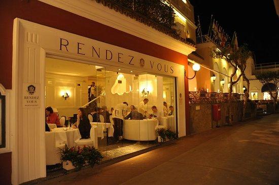 Grand Hotel Quisisana: Restaurant