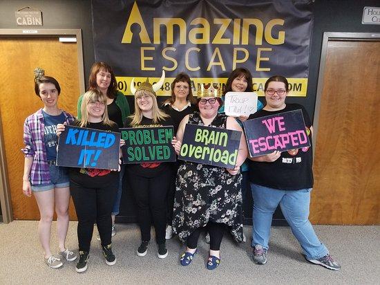 Amazing Escape Picture