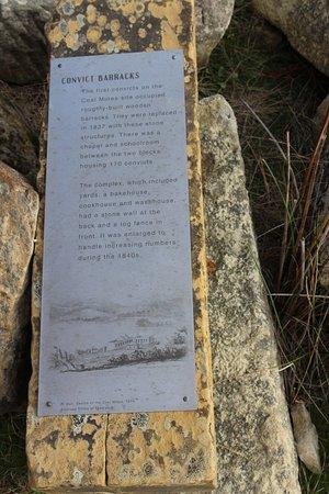 Saltwater River, Australia: Story on Convict barracks