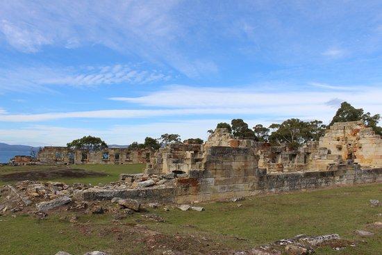 Saltwater River, Australia: Site of the convict barracks