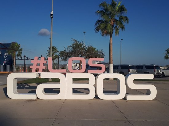 If you visit Los Cabos, Mexico, you have to take a picture on this sign, sorry but it is the rul
