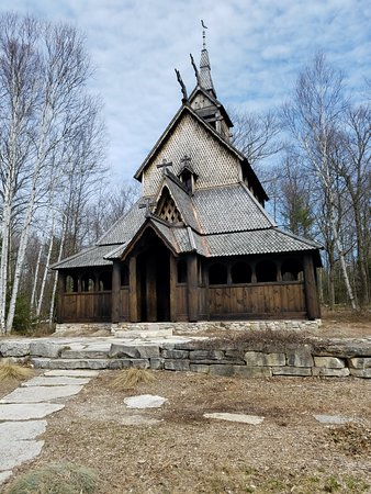 Egg Harbor, WI: Stavkirke - Best-kept secret of Washington Island