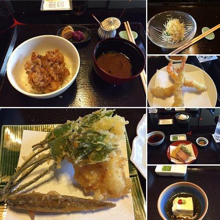 Kyoto Gion Tempura Endo Yasaka Honten: Everything was yummmmm
