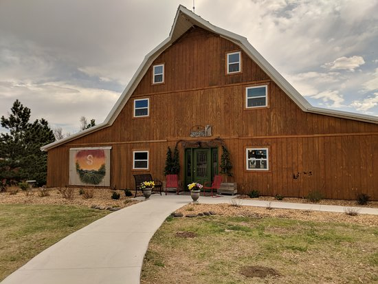 WaKeeney, KS: Stop by for a tour and tasting and get to know the history of our restored old barn.