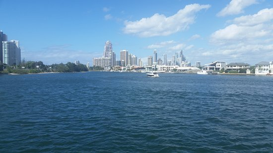 Gold Coast 1.5-Hour Sightseeing River Cruise from Surfers Paradise: Taken cruising around the canals