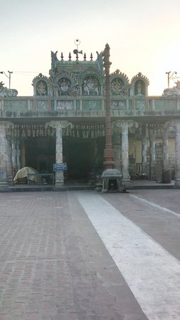 Nagapattinam, Indien: Temple entrance