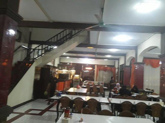 West Java, Indonesien: Ruangan tempat makan