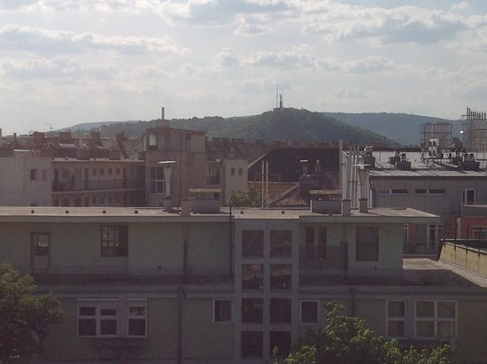 Fraser Residence Budapest: Widok od strony południowej 7 piętro