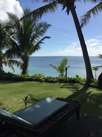 Fagamalo, Samoa: View from fale 4