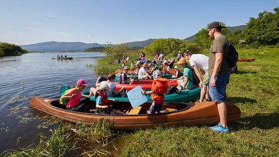 Cerknica, สโลวีเนีย: Rent a canoe !