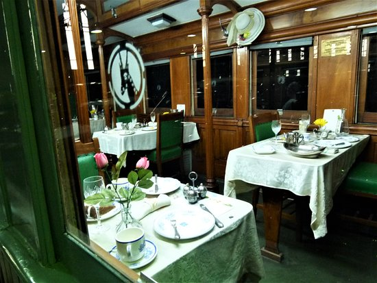 Outeniqua Transport Museum: The Royal White Train Dining Cart