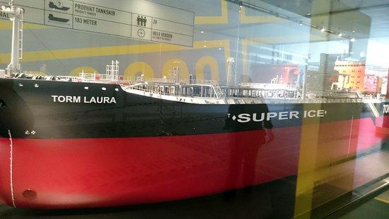 M/S Maritime Museum of Denmark: Model af en supertanker