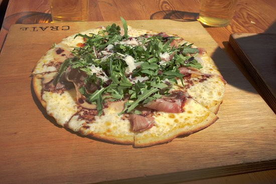 Crate Brewery: Rocket and Prosciutto