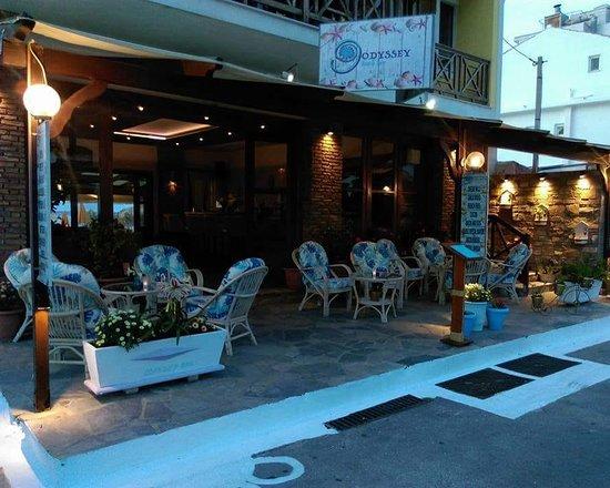 Odyssey Beach Bar Kokkari Restaurant Reviews Photos Phone Number Tripadvisor