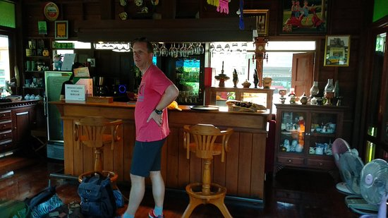 Oriental Siam Resort: Reception and bar