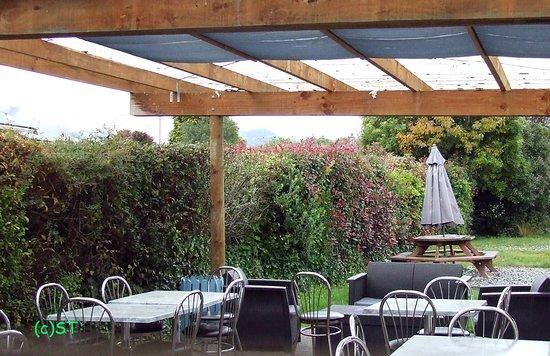 Murchison, Yeni Zelanda: Outdoor seating