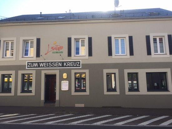 Merzig, Alemania: Entrance Facing Trierer Stra