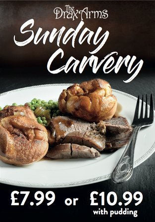 Bere Regis, UK: The Drax Sunday Carvery