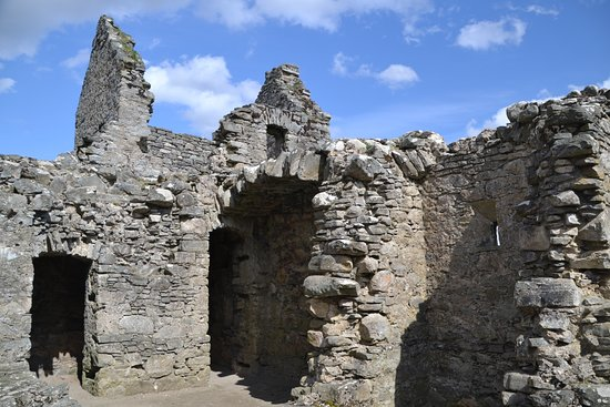 Ruthven Barracks: Officers' quarters above the cells