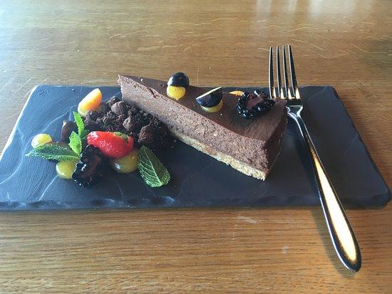 Joelaehtme, Estonia: Chocolate cheesecake