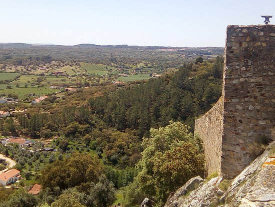 Alegrete, Portugal: You can see for a long way