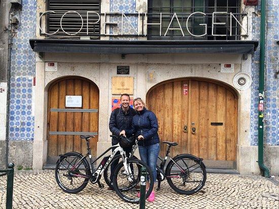 Bike A Wish: Happy moments in Lisbon