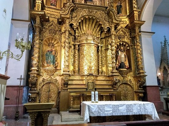 Iglesia de San José: ALTAR DE ORO