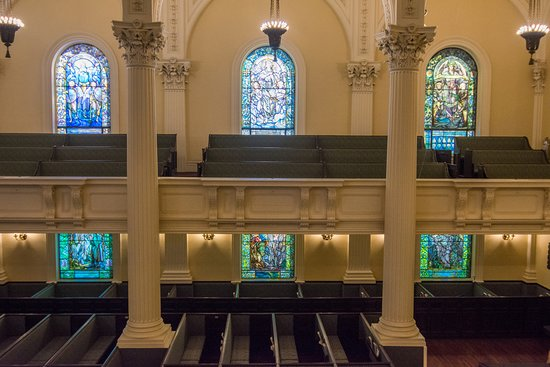 Tiffany Windows Education Center at Arlington Street Church