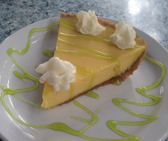 7 Mile Grill: The best Key lime pie , made fresh at the restaurant, every day  !