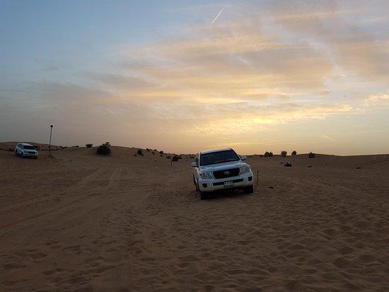 Arabian Nights Tours LLC: Закат в пустыне
