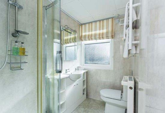 Kippford, UK: En-suite in the Chalet/Annexe