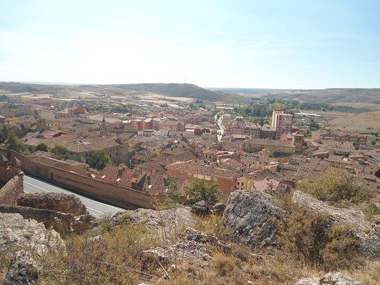 Castillo de Molina de Aragon: Panorámica desde arriba