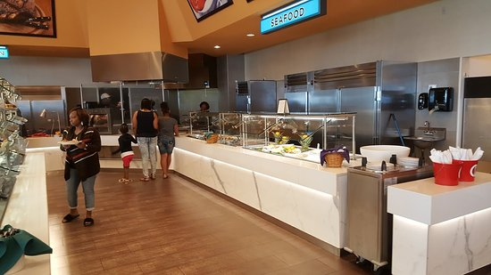 Waterfront Buffet Seafood Counter