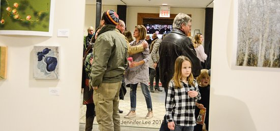 Berryville, VA: All ages at an art show