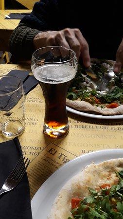 Carignano, Italia: Ottima anche la birra!