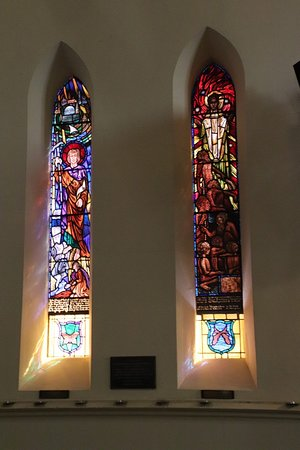 Modern stained-glass windows