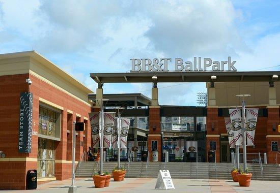 BB&T Ballpark: Entrance