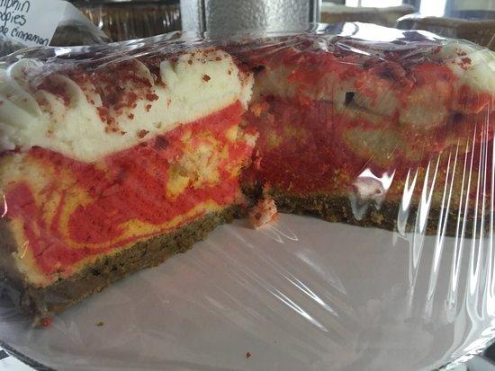 Auburn, NH : Red Velvet Cheesecake!!